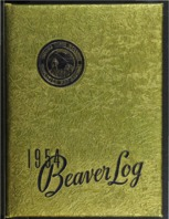 Cover of the 1954 yearbook