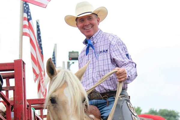 Marty Barnes, BVU's rodeo coach