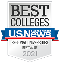 U.S. News & World Report Badge - Best Value 2021