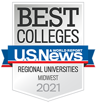 US News & World Report badge - Best regional universities 2021
